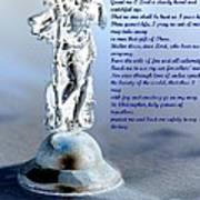 Prayer To St Christopher Art Print