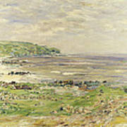 Preaching Of St. Columba Iona Inner Hebridies Art Print by William McTaggart