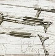 Prehistoric Spear-thrower Art Print