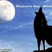 Preserve Our Wildlife Art Print