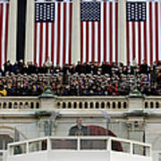 President George W. Bush Makes Art Print by Stocktrek Images