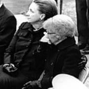 President Harry Trumans Funeral. Bess Art Print