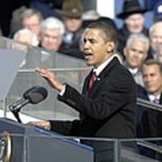 President Obama Called For A New Era Art Print by Everett