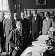 President William H. Taft At His Desk Art Print