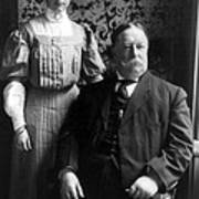 President William Howard Taft With Daughter Art Print by International  Images