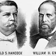 Presidentail Campaign, 1880 Art Print