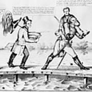 Presidential Campaign, 1852 Art Print
