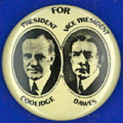 Presidential Campaign, 1924 Art Print