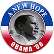 Presidential Campaign, 2008 Art Print
