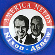 Presidential Campaign:1972 Art Print