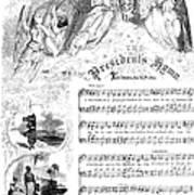 Presidents Hymn, 1863 Art Print