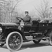 Presidents Tafts,white Touring Car That Art Print