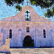 Presido Chapel San Elizario Texas Art Print