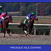 Presque Isle Downs Art Print