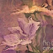Pretty Bouquet - A04t4b Art Print