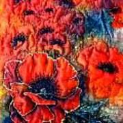 Pretty Poppies Art Print