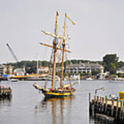 Pride Of Baltimore II Pb2p Art Print