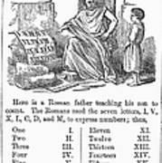 Primer: Roman Numerals Art Print