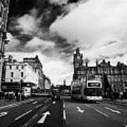 Princes Street Edinburgh Scotland Art Print by Joe Fox