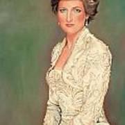 Princess Diana Art Print