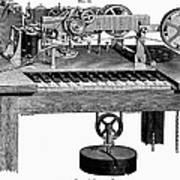 Printing Telegraph, 1873 Art Print