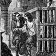 Prison: Cage, 17th Century Art Print