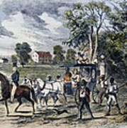 Pro-union South, 1862 Art Print