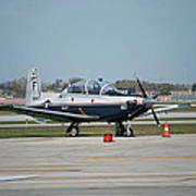 Propeller Plane Chicago Airplanes 10 Art Print
