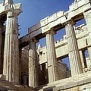 Propylaia Acropolis Art Print