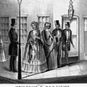 Prostitution, 1850 Art Print