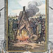 Protestant Martyrs, 1563 Art Print