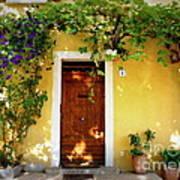 Provence Door Number 1 Art Print