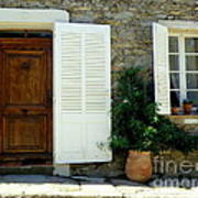 Provence Door Number 4 Art Print