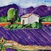 Provence Art Print by Regina Ammerman