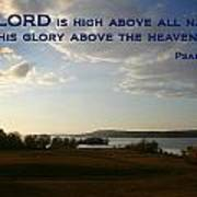 Psalm 113 4 Art Print