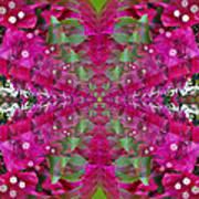 Psychadelic Flower Art Print