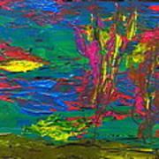 Psychedelic Sea Art Print