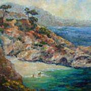 Pt Lobos View Art Print