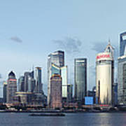 Pudong Skyline Art Print