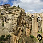 Puente Nuevo In Ronda Art Print