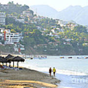 Puerto Vallarta Beach Art Print