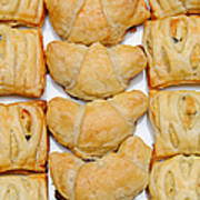 Puff Pastry Party Tray Pano Art Print