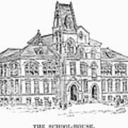 Pullman: Schoolhouse Art Print