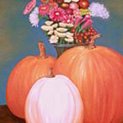 Pumpkin Art Print by Amity Traylor