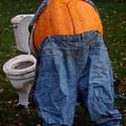 Pumpkin Butt Art Print