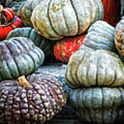 Pumpkin Pile II Art Print