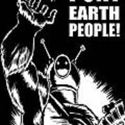 Puny Earth People Art Print