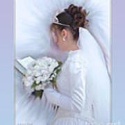 Pure Spotless Bride Art Print