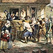 Puritans: Punishment, 1670s Art Print