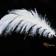 Purity Art Print by Judy M Watts-Rohanna
